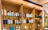 Cinderella Hair Salon Product Wall