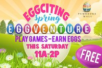 Eggciting Spring Eggventure Outside Banner
