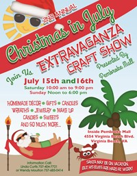 Best 28 christmas in july craft show solomon s words for Vendors wanted for craft shows 2017