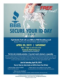 Pembroke Mall - BBB Shred Event