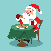 Cookies and Crafts with Santa