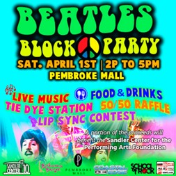 BEATLES BLOCK PARTY 322X322