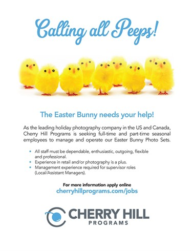 Cherry Hill Easter Photographer